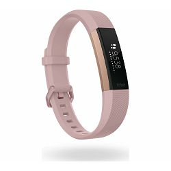 Fitness narukvica FITBIT Alta HR Rosegold S
