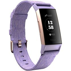 Fitness narukvica FITBIT Charge 3 Special Edition Lavender Woven