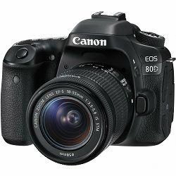 Fotoaparat CANON EOS 80D 15-55IS STM