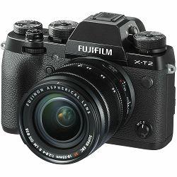 Fotoaparat FUJIFILM X-T2 crni + objektiv XF 18-55 mm