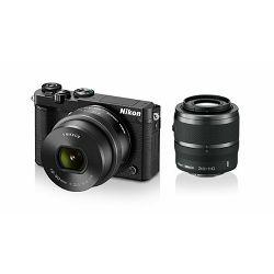 Fotoaparat NIKON 1 J5 + 10-30mm f/3.5-5.6 PD Zoom  + 30-110mm  Black