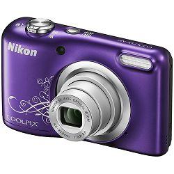 Fotoaparat NIKON COOLPIX A10 ljubičasti + SD 16GB