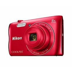 Fotoaparat Nikon COOLPIX A300 Red