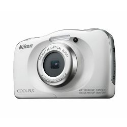 Fotoaparat NIKON COOLPIX W100 WHITE BACKPACK KIT bijeli