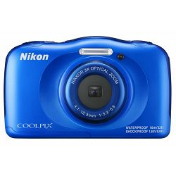 Fotoaparat NIKON COOLPIX W100 BLUE BACKPACK KIT plavi