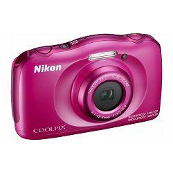 Fotoaparat NIKON COOLPIX W100 PINK BACKPACK KIT rozi