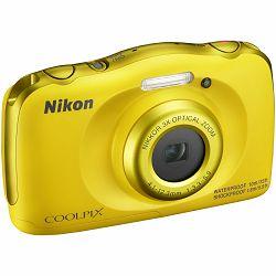 Fotoaparat NIKON COOLPIX W100 YELLOW BACKPACK KIT žuti