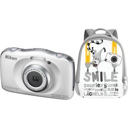 Fotoaparat NIKON COOLPIX W150 WHITE BACKPACK KIT