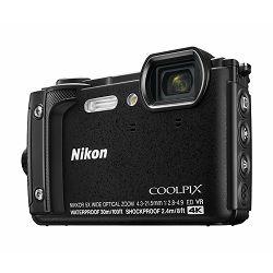 Fotoaparat NIKON COOLPIX W300 crni
