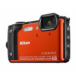 Fotoaparat NIKON COOLPIX W300 narančasti