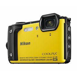 Fotoaparat NIKON COOLPIX W300 žuti