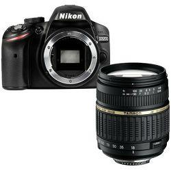 Fotoaparat NIKON D3200 BODY + TAMRON 18-200MM XR DI II NIKON