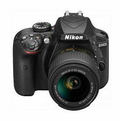 Fotoaparat NIKON D3400 KIT AF-P 18-55 VR + AF-S 55-200VRII
