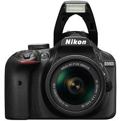 Fotoaparat NIKON D3400 KIT AF-P 18-55VR Black