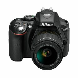 Fotoaparat NIKON D5300 KIT AF-P 18-55VR Black