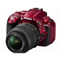 Fotoaparat NIKON D5300 KIT AF-P 18-55VR Red