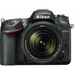 Fotoaparat NIKON D7200 KIT AF-S DX NIKKOR 18-140 mm VR + poklon memorijska kartica 32GB