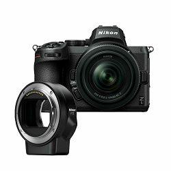 Fotoaparat NIKON Z5 + 24-50mm + FTZ Adapter Kit
