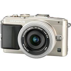 Fotoaparat OLYMPUS E-PL6 Body srebrni + objektiv M.Zuiko 14-42mm 1:3.5 - 5.6 II R srebrni + objektiv M.Zuiko 40-150mm 1:4.0 - 5.6 srebrni