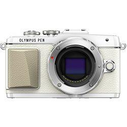 Fotoaparat OLYMPUS E-PL7 Body bijeli + objektiv M.Zuiko 14-42mm 1:3.5 - 5.6 II R srebrni