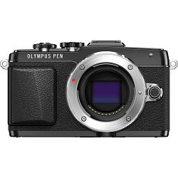 Fotoaparat OLYMPUS E-PL7 crni + objektiv M.Zuiko Digital ED 14-42mm 1:3.5 - 5.6 Pancake crni