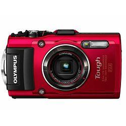 Fotoaparat OLYMPUS TG-4 crveni + poklon memorijska kartica 16GB