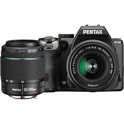 Fotoaparat PENTAX K-70 BLACK 18-50/50-200 EU