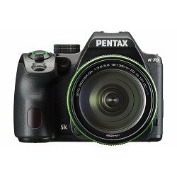 Fotoaparat PENTAX K-70 BLACK DA 18-135WR KIT