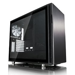 Kućište FRACTAL Define R6, Black TG, Tip C, crno bez napaj