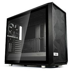 Kućište FRACTAL Meshfy S2 Black TG Light, crno bez napaja