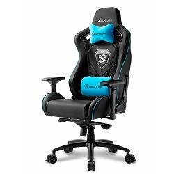 Gaming stolica SHARKOON Skiller SGS4, crno-plava