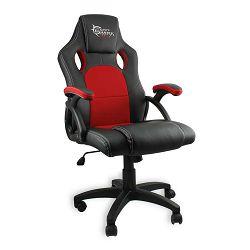 Gaming stolica WHITE SHARK KINGS THRONE crno crvena