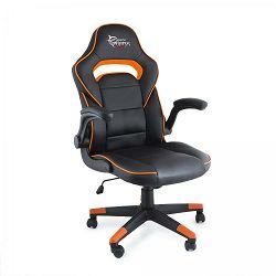 Gaming stolica WHITE SHARK SHEBA crno narančasta