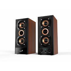 Zvučnici GENIUS SP-HF800A II, 20W, 3-way, drveni