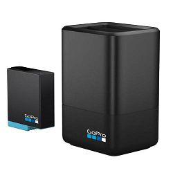 GOPRO punjač Dual Battery Charger + baterija (HERO8 Black/HERO7 Black/HERO6 Black)