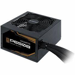 Napajanje GIGABYTE P650B 650W, 80+ Bronze, Japanese capacitors, 120mm smart fan, EU plug