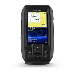 GPS fishfinder GARMIN Striker Plus 4cv (s krmenom sondom CHIRP 77/200kHz/DownVü GT20-TM, 4-pin)