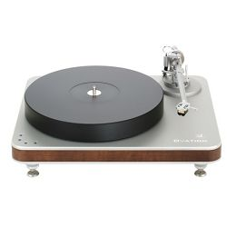 Gramofon CLEARAUDIO Ovation (Silver, Natural Wood)