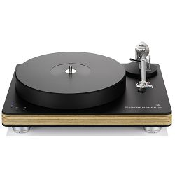Gramofon CLEARAUDIO Performance DC + Satisfy Kardan + Talismann V2 Gold MC (Black, Wood)