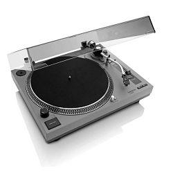 Gramofon LENCO L-3808 mat siva