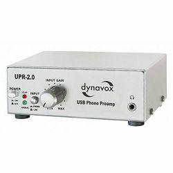 Gramofonsko predpojačalo DYNAVOX UPR-2.0 USB sivo