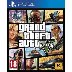 PS4 Igra Grand Thef Auto V - GTA5
