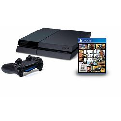 Igraća konzola SONY PLAYSTATION 4 500 GB + Igra GRAND THEFT AUTO V