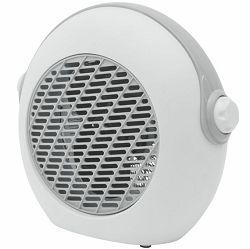Grijalica s ventilatorom HOME FK 37/GY sivo bijela