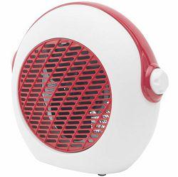 Grijalica s ventilatorom HOME FK 37/RD crveno bijela