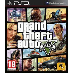 PS3 igra GRAND THEFT auto V - GTA V