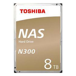 Hard disk HDD TOSHIBA N300 8TB, 128MB, 7200rpm, NAS, retail