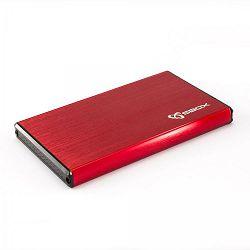HDD kućište SBOX HDC-2562 / USB-3.0 (crveno)