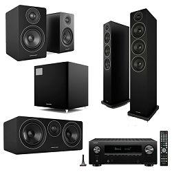 Hi-fi set DENON X2700H crni + ACOUSTIC ENERGY set zvučnika