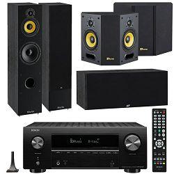 Hi-Fi set DENON X2700H crni + DAVIS ACOUSTICS set zvučnika